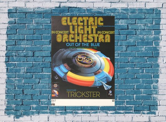 ELO Electric Light Orchestra - Out Of The Blue,  1978 - Konzertplakat