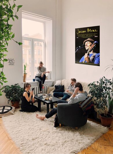 Jason Mraz - Good Vibes, Berlin 2019 - Konzertplakat