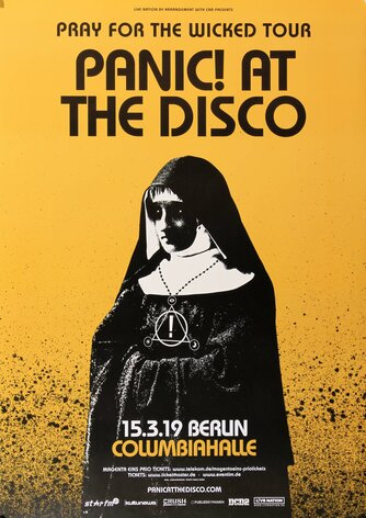 Panic At The Disco - The Wicked, Berlin 2019 - Konzertplakat