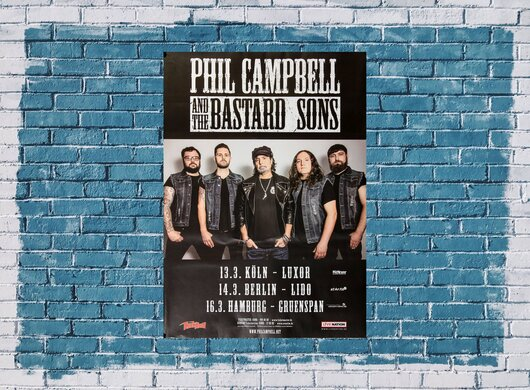 Phil Campbell - The Bastard Sons, Tour 2019 - Konzertplakat