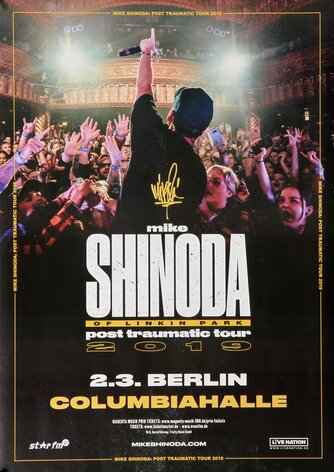 Mike Shinoda of Linkin Park - Post Traumatic , Berlin...