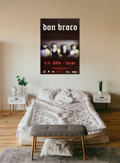 Don Broco - Automatic, Köln 2017 - Konzertplakat