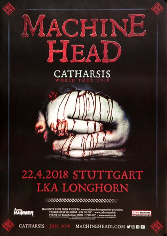Machine Head - Catharsis World, Stuttgart 2018 -...
