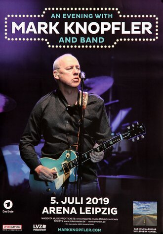 Mark Knopfler - Down The Road Wherever, Leipzig 2019 -...