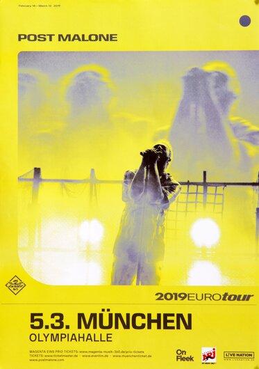 Post Malone - Euro Tour, München 2019, 24,90 €