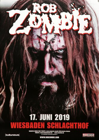 Rob Zombie - The Electric Warlock, Wiesbaden 2019 -...