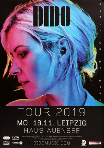 DIDO - Still On My Mind, Leipzig 2019 - Konzertplakat