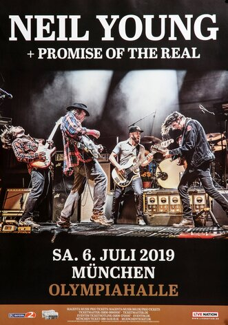 Neil Young - Promise To The Real, München 2019 -...