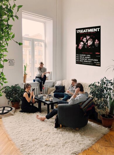 The Treatment - Running The Dogs, Tour 2014 - Konzertplakat