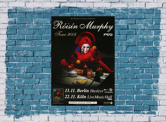 Roisin Murphy - Body Language, Berlin & Köln 2008 - Konzertplakat