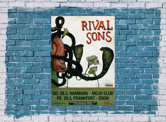 Rival Sons - Wild Animal, Hamburg & Frankfurt 2013