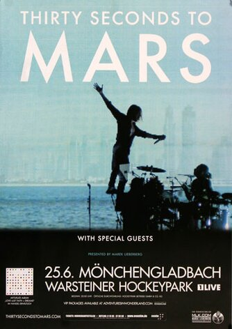 30 Seconds to Mars - In The Air , Mönchengladbach 2014 -...