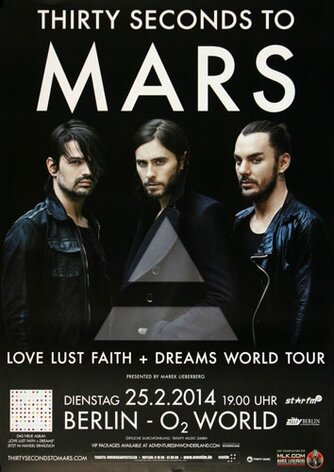 30 Seconds to Mars - Deams World , Berlin 2014 -...