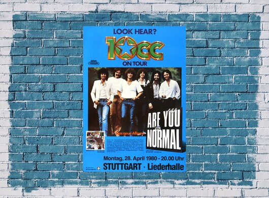 10 cc - Are You Normal, Stuttgart  1980
