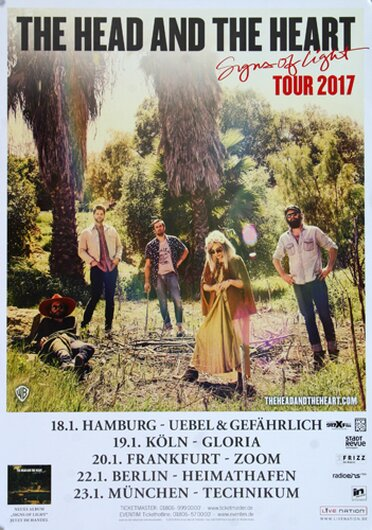 The Head And The Heart - Signs Of Light, Tour 2017