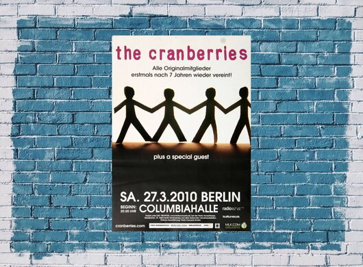 The Cranberries - Animal Instinct, Berlin 2010 - Konzertplakat