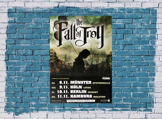 The Fall of Troy - Sledgehammer, Tour 2009 - Konzertplakat