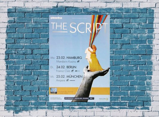 The Script - Breakeven, Tour 2009