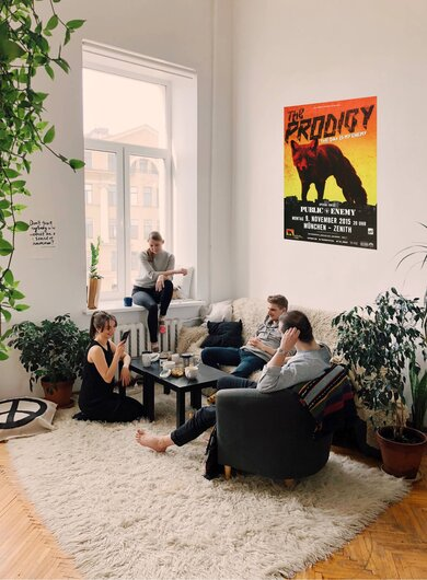 The Prodigy - The Day , München 2015 - Konzertplakat