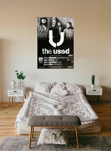The Used - Vulnerable, Tour 2012 - Konzertplakat