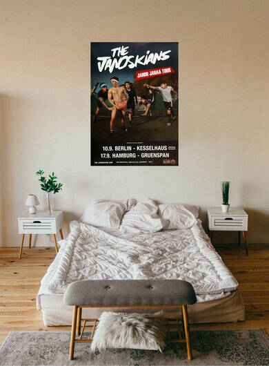 The Janoskians - God Cake, Berlin & Hamburg 2015 - Konzertplakat
