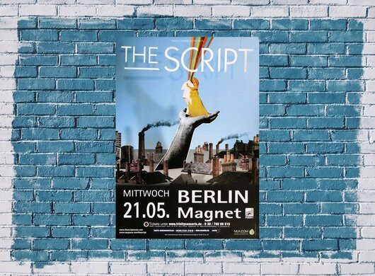 The Script - No Sound , Berlin 2008