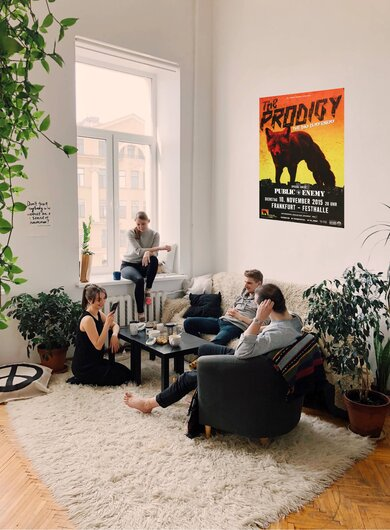 The Prodigy - The Day , Frankfurt 2015 - Konzertplakat