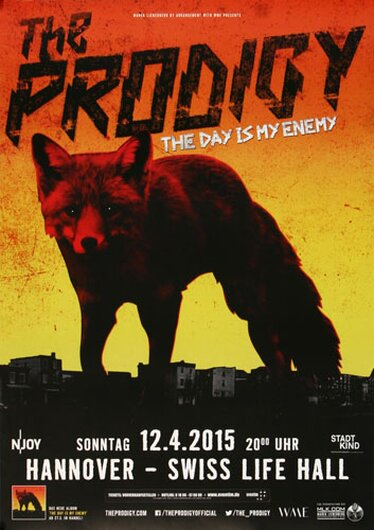 The Prodigy, Hannover 2015