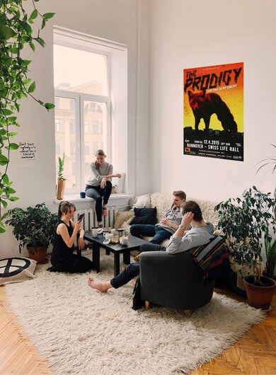 The Prodigy - The Day , Hannover 2015 - Konzertplakat