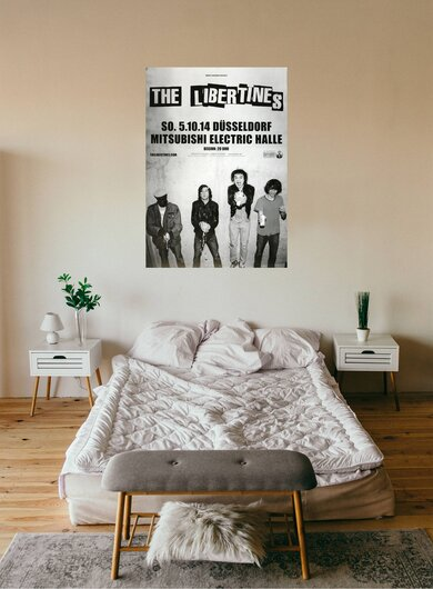 The Libertines - Time For Heros , Düsseldorf 2014 - Konzertplakat