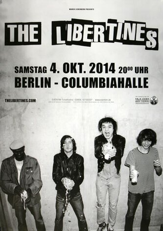 The Libertines - Time For Heros , Berlin 2014 -...