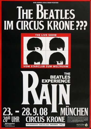 The Beatles Experience - Rain, München 2008