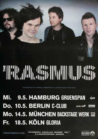 The Macabees - Live In Germany, Tour 2012 - Konzertplakat
