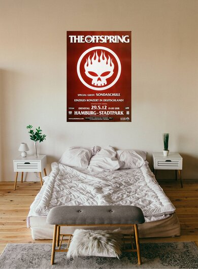 The Offspring - Days Go By, Hamburg 2012 - Konzertplakat