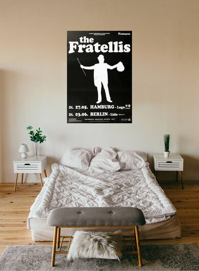 The Fratellis - Mistress Mabel, Hamburg & Berlin 2008 - Konzertplakat