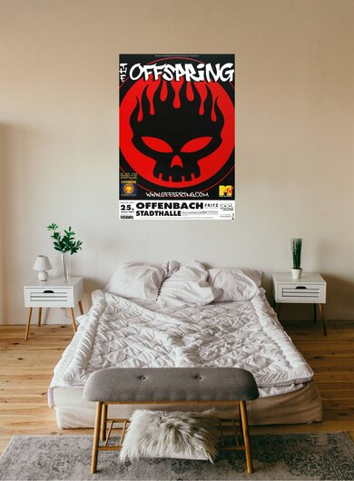 The Offspring - Conspiracy Of One, Frankfurt 2001 - Konzertplakat