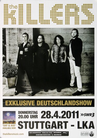 The Killers - Day & Age, stuttgart 2011