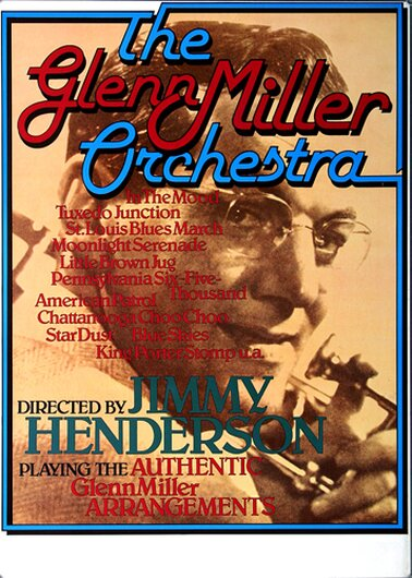 The Glenn Miller Orchestra - In the Mood,  1969 - Konzertplakat