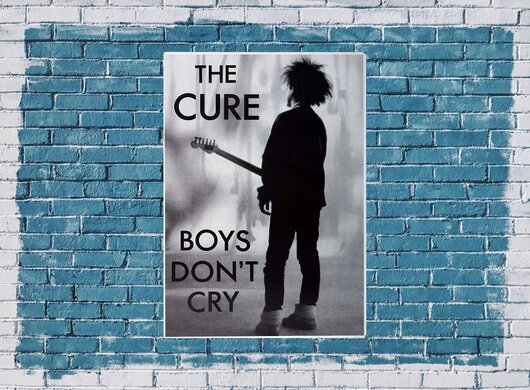 The Cure - Boys Dont Cry,  1980 - Konzertplakat