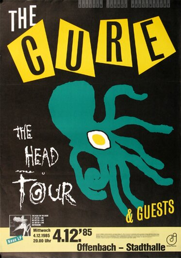 The Cure - The Head, Frankfurt 1985