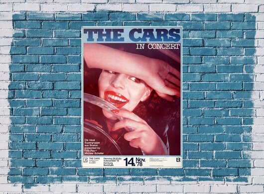 The Cars - Just What I Needed, Tour 1978 - Konzertplakat