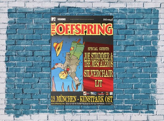 The Offspring - Want You Bad, München 2000 - Konzertplakat