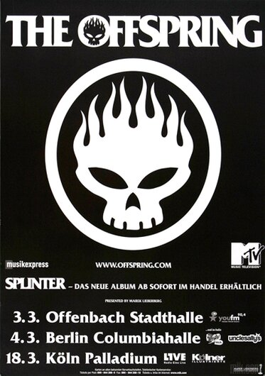 The Offspring, Tour 2004