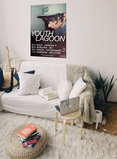 Youth Lagoon - Live In, Tour 2012 - Konzertplakat