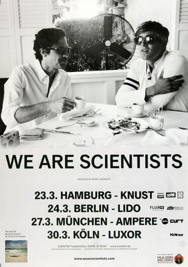 We Are Scientists, Tour 2014