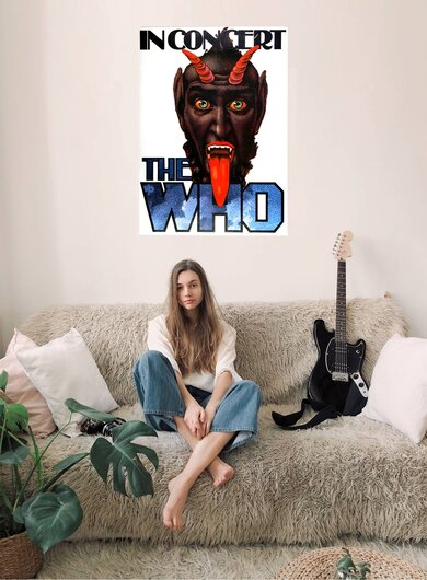 The Who - Who Are You,  1976 - Konzertplakat