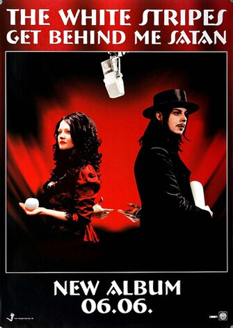 The White Stripes - Get Behind Me Satan,  2006 -...