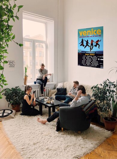 Venice - Welcome To Your Life, Tour 2003 - Konzertplakat