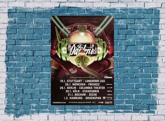 The Darkness - Last Of Our Kind, Tour 2016 - Konzertplakat