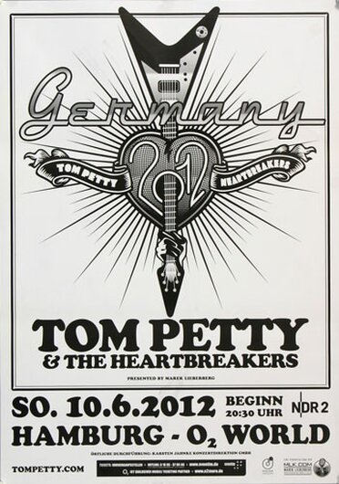 Tom Petty & the Heartbreakers - Live IN , Hamburg 2012
